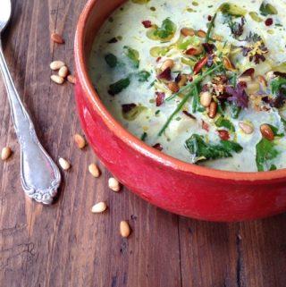 Spinach and Artichoke Soup Recipe