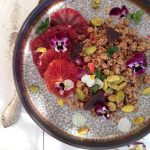 Chia Blood Orange Parfait Recipe