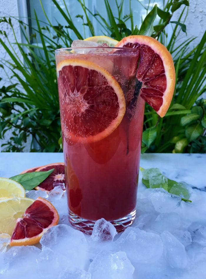 Blood Orange Lemonade