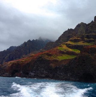 Kauai Napali Coast , Whispers from my 100 Years Old Self