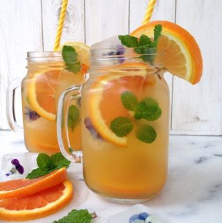 Sparkling Orange Lemonade Recipe