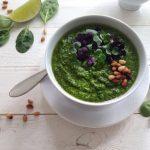 Spinach Garlic Pesto Recipe
