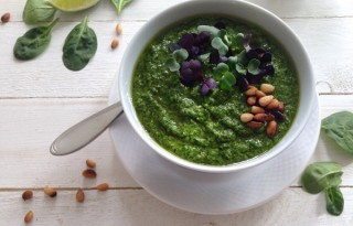 Spinach Garlic Pesto Recipe