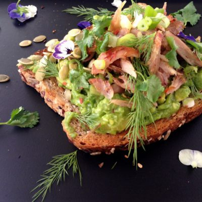 Chicken Avocado Toast Recipe