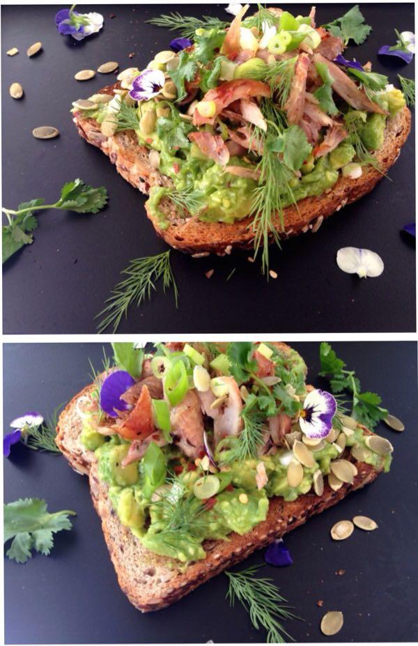 Chicken Avocado Toast Recipe