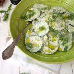 Cucumber Dill Salad Recipe