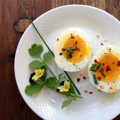 Perfect Soft Boiled Eggs Recipe
