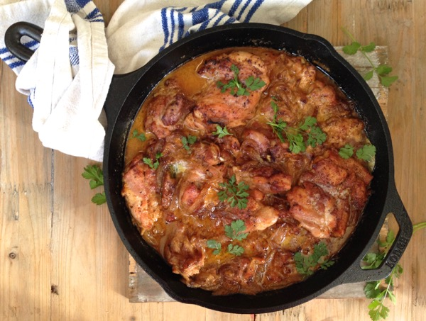 Salvadorian Chicken in White Wine Recipe