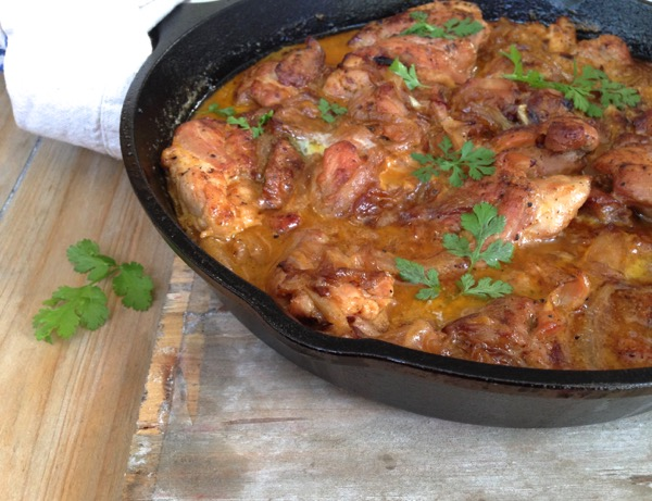 Salvadorian Chicken in White Wine Recipe