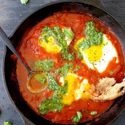 Sicilian Eggs In Hell Recipe (Uova in Purgatorio)