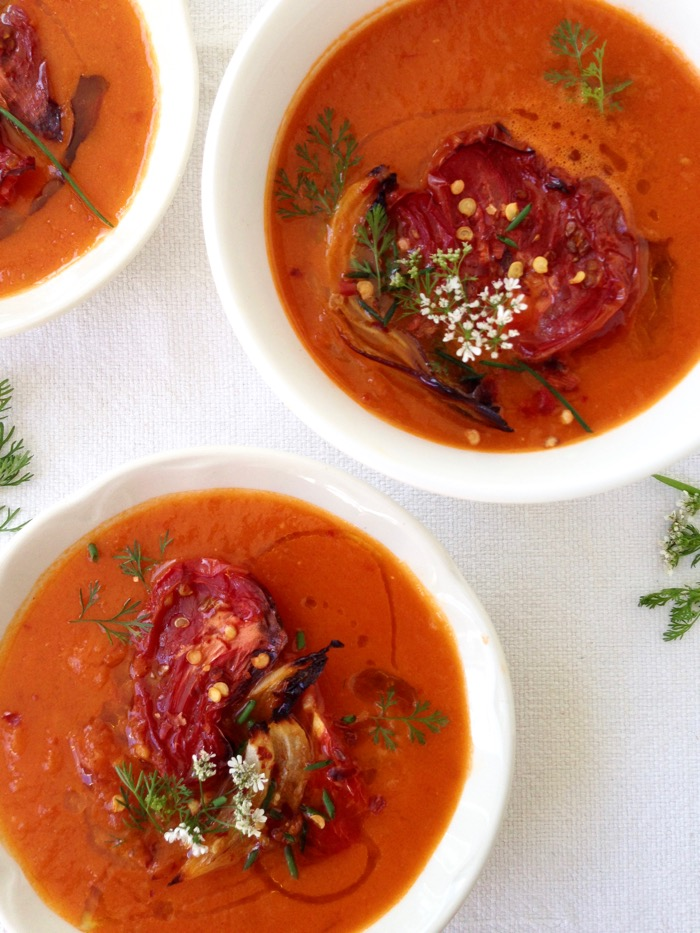 Roasted Tomato Soup Recipe Ciaoflorentina