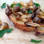 Wild Mushroom Bruschetta Appetizer