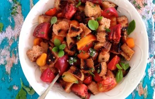 Tomato Bread Salad Recipe Panzanella