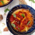 Roasted Peperonata & Polenta