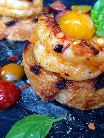 Shrimp Bruschetta & Crostini Recipe