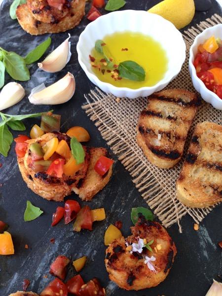 Shrimp Bruschetta & Crostini Recipe