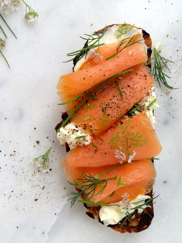 Smoked Salmon Crostini Recipe • CiaoFlorentina