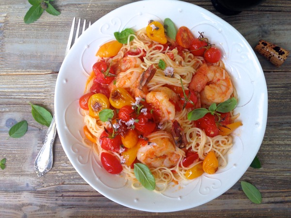 fresh tomato basil pasta sauce