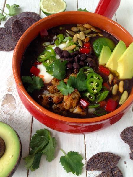 Black Bean Stew Recipe