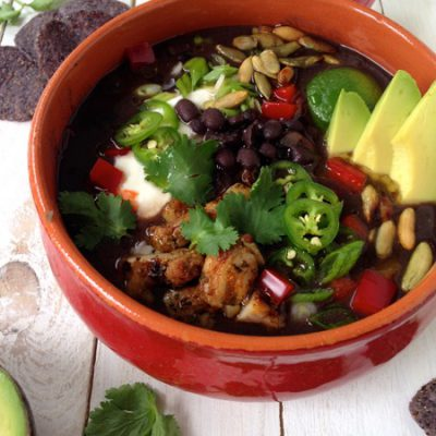 Black Bean Stew Recipe