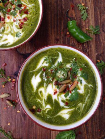 Vegetarian Kale soup Recipe