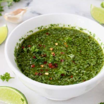 Best Chimichurri Sauce Recipe Video