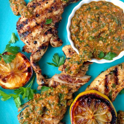 Italian Grilled Chicken Recipe