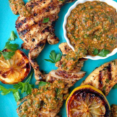 Italian Grilled Chicken Recipe