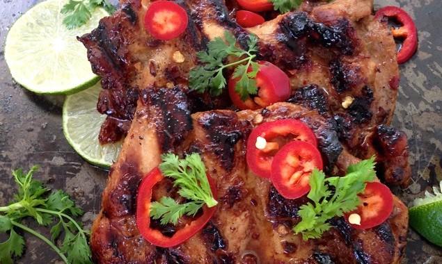 Spicy Grilled Chicken Thighs Recipe