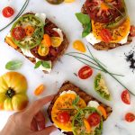 Tomatoes and Mozzarella Bruschetta Bar