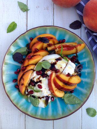 Burrata Peach Salad Recipe