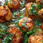 Garlic Scallops Healthy