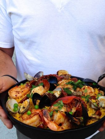 Spanish Seafood Paella Recipe (Healthy)