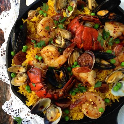 Spanish Paella Recipe (Healthy Paella)