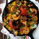 Spanish Healthy Paella Recipe