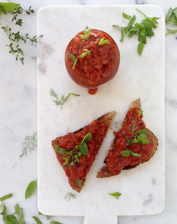 Zacusca Vegetable Spread Recipe