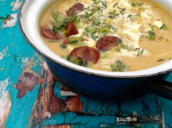 Easy Potato Leek Soup