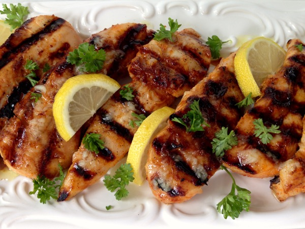 Lemon Garlic Chicken Breast Tenders Recipe