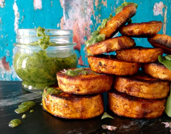 Healthy Baked Sweet Potato Rounds