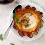 best acorn squash recipe with vanilla rum sauce