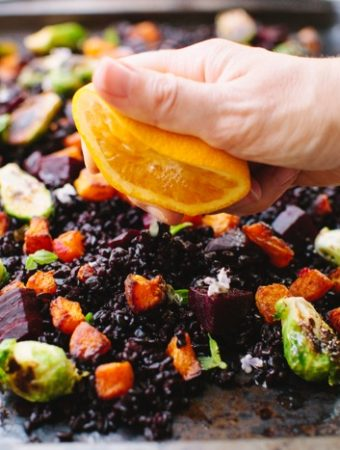 Autumn Salad Recipe with Roasted Butternut Squash