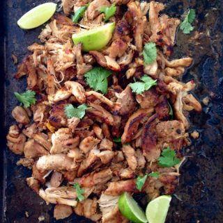 Chicken carnitas recipe
