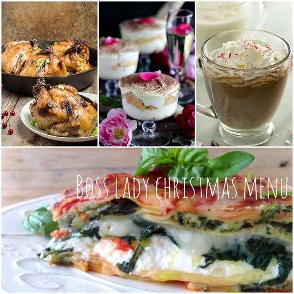 Boss Lady Christmas Menu Recipes