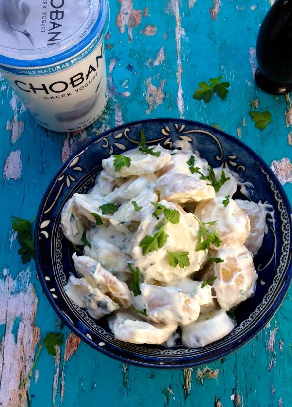 Chobani® Greek Yogurt Potato Salad