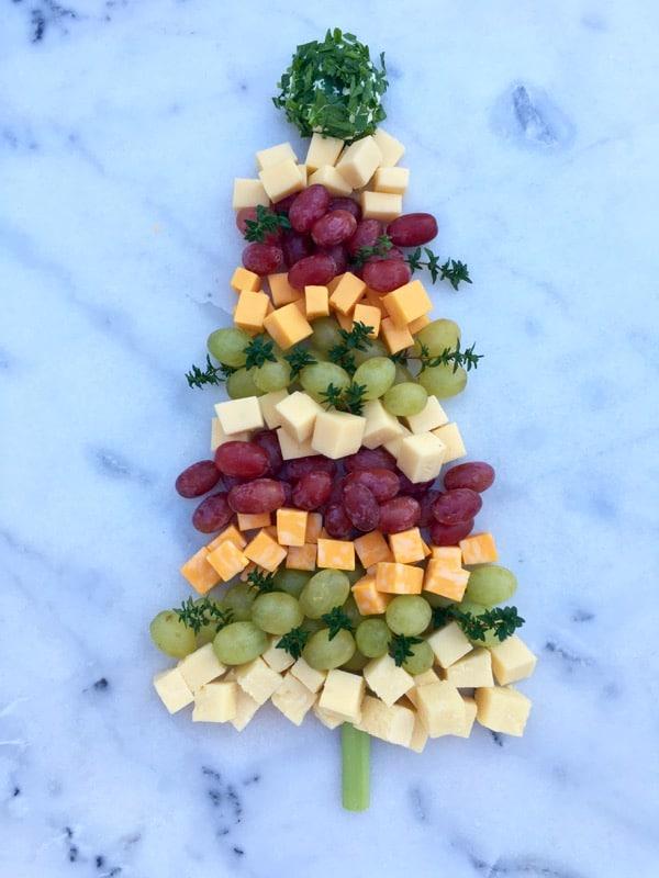 Christmas Tree Cheese Platter Recipe • CiaoFlorentina
