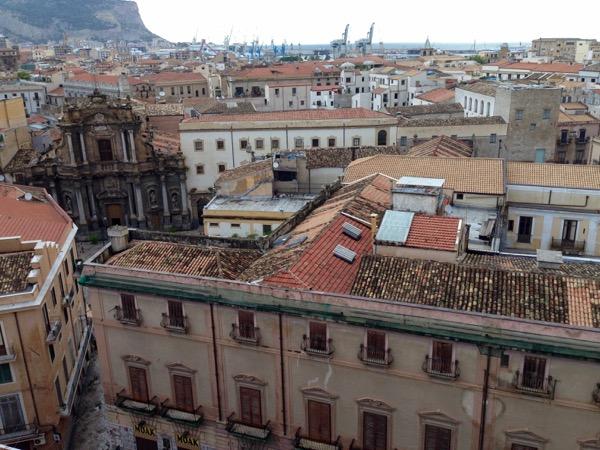 Buildings Palermo Sicily