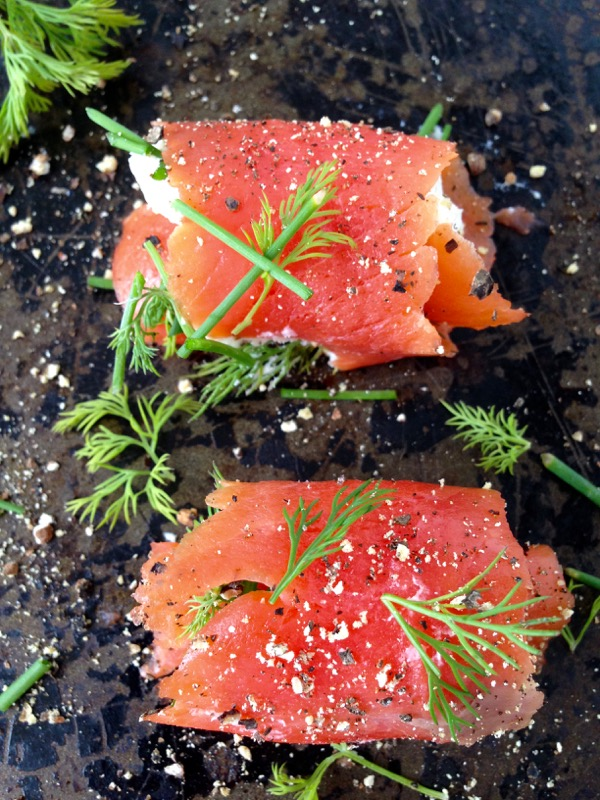 Smoked Salmon Appetizers Images
