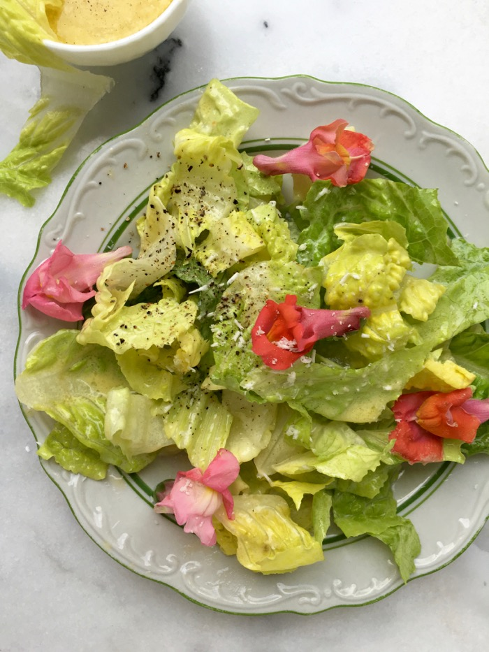 Homemade Caesar Salad Recipe ( Easy)