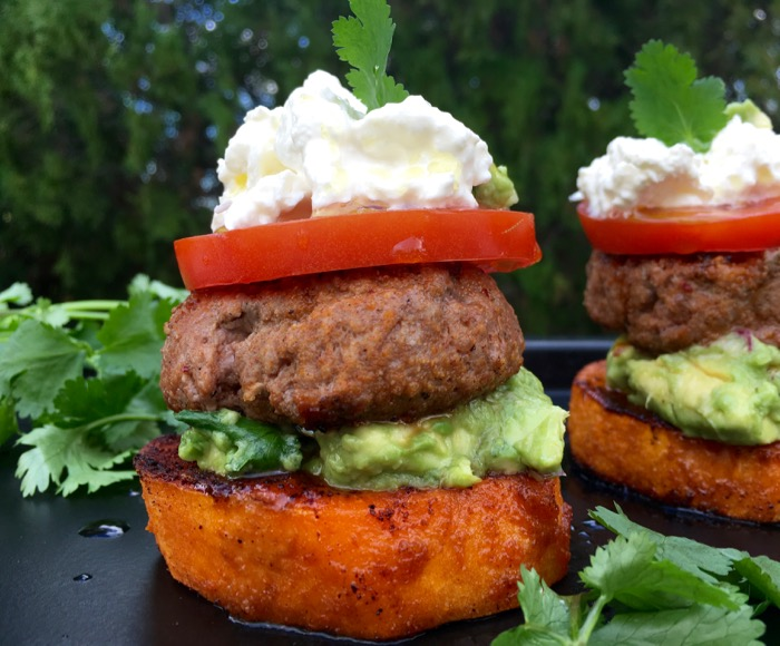 sweet potato sliders recipe