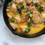 Chicken In Milk Recipe